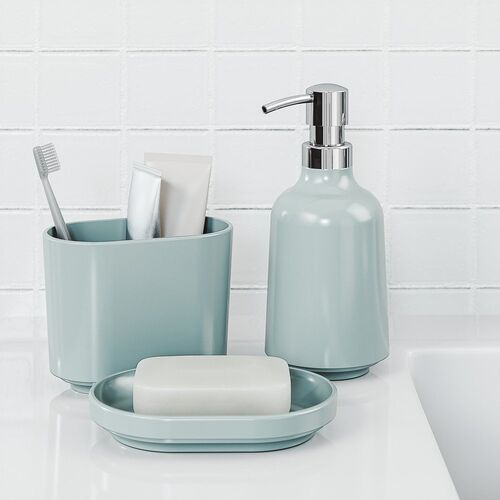 - dozownik do mydła step, błękitny marki Umbra