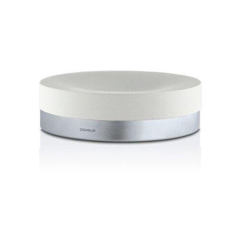 Blomus - pojemnik łazienkowy/ mydelniczka ara - biały (4008832688539)