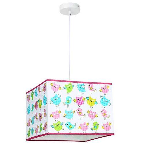 Lampa wisząca Luminex Kid Bird 8803 lampa sufitowa dziecięca 1x60W E27 biała / kolorowa, 8803
