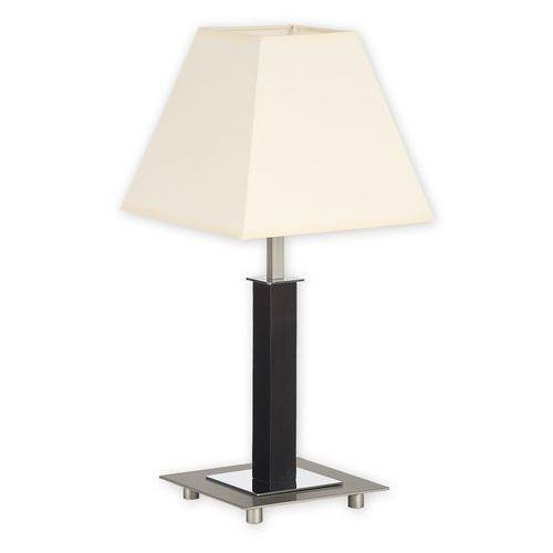 Lemir Inari lampka stołowa mała 1 pł. / satyna + chrom + drewno (wenge), dodaj produkt do koszyka i uzyskaj rabat -10% taniej!
