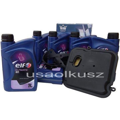 Filtr oraz olej mercon-iii automatycznej skrzyni biegów dodge dakota 2005-2011 marki Elf