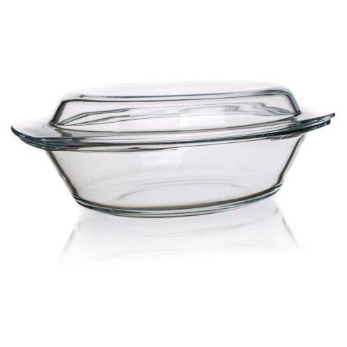 4-home Simax naczynie szklane owalne z pokrywką 4,4 l
