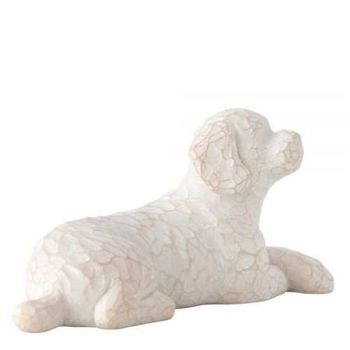 Mój ukochany kot Love my Dog (small,lying) 27790 Susan Lordi Willow Tree