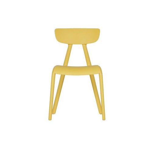 Woood Krzesło dziecięce Wisse żółte 373801-G