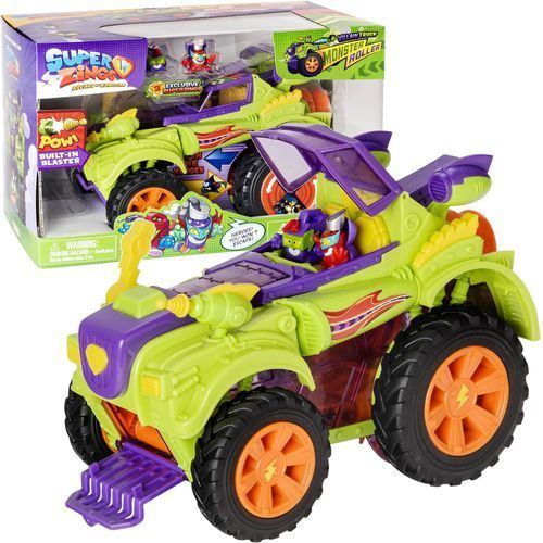 Super zings villain truck monster roller marki Magic box