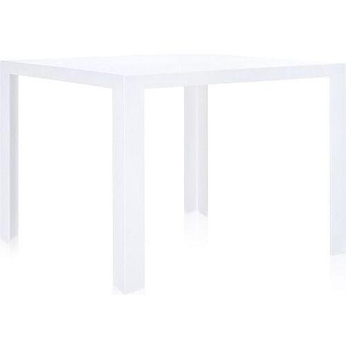 Stół invisible biały lśniący marki Kartell