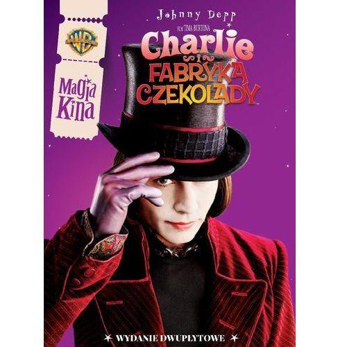 Tim burton Charlie i fabryka czekolady (2dvd) magia kina (7321918593372)