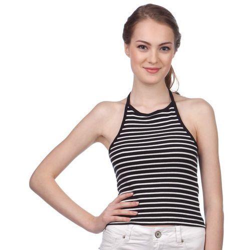 Brave Soul koszulka bez rękawów damska Silver M czarny