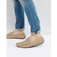 River Island Woven Boat Shoes In Tan - Tan