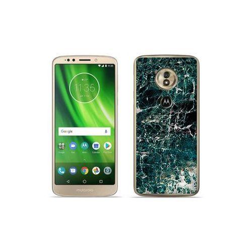 etuo Fantastic Case - Motorola Moto G6 Play - etui na telefon Fantastic Case - zielony marmur, ETMT716FNTCFC031000