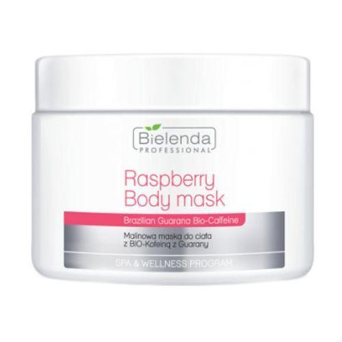 Bielenda professional raspberry body mask with guarana bio-coffeine malinowa maska do ciała z bio-kofeiną z guarany