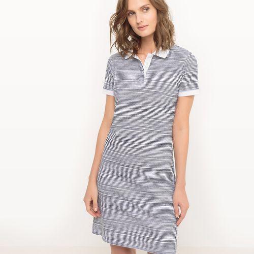 Sukienka polo, w paski, R essentiel