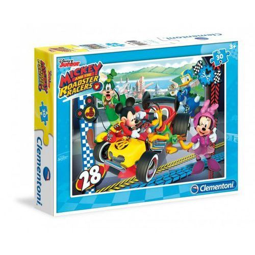 Puzzle mickey and the roadster 30 marki Clementoni