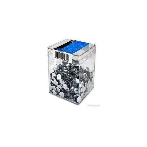 Pinezki metalowe E&D PLASTIC plastikowe pudełko 750szt.