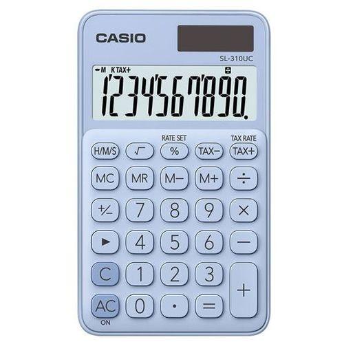 Casio Kalkulator sl-310uc-lb niebieski (4549526700125)