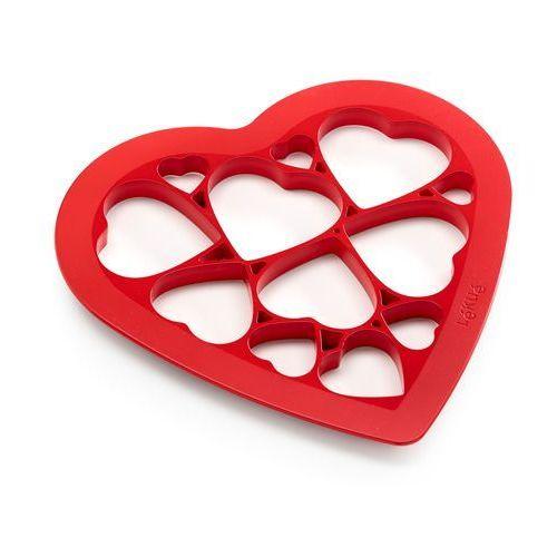 Forma do wykrawania ciasteczek Lekue Puzzle Hearts, 0200160R01M017