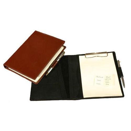 NOTES NS-55S - format A5 wykonany ze skóry naturalnej Z KOLEKCJI CLASSIC TOMI GINALDI - produkt z kategorii- Pozostałe artykuły biurowe