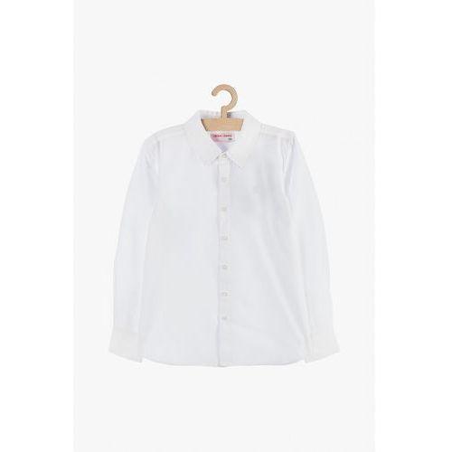 Koszula chłopięca rozpinana biała 2J3802, kolor biały