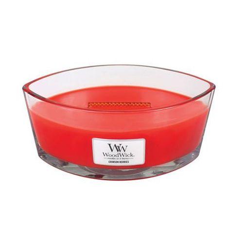 świeca zapachowa 453,6 g czerwona jarzębina marki Woodwick