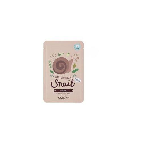 , fresh garden - snail, maska w płacie ze śluzem ślimaka, 23g marki Skin79