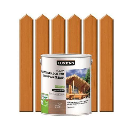 Luxens Lazura do drewna długotrwała ochrona i dekoracja drewna 5 lsosna oregońska (3276006110310)