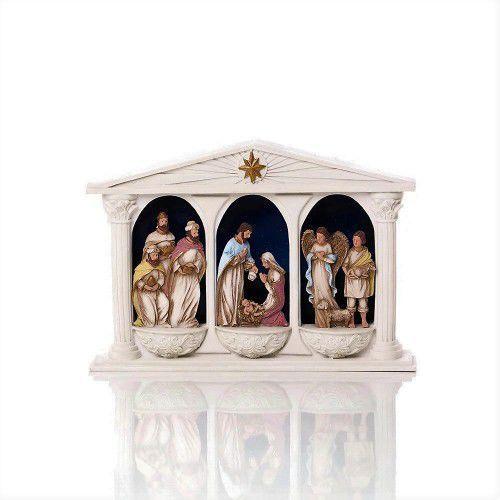Szopka bożonarodzeniowa, świecąca