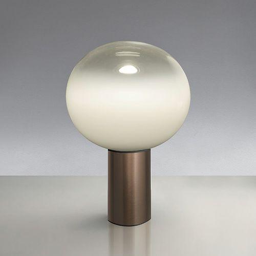 LAGUNA 16-Lampa stojąca Aluminium/Szkło Wys.24cm