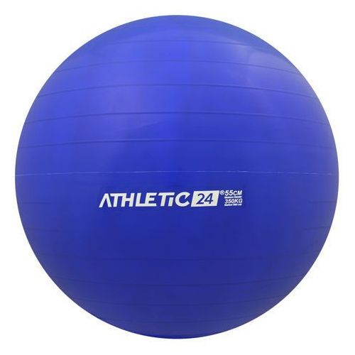 classic 55 niebieska - piłka fitness - niebieski marki Athletic24