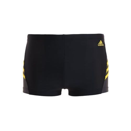 adidas Performance INSPIRATION Kąpielówki black/bright yellow, kolor czarny
