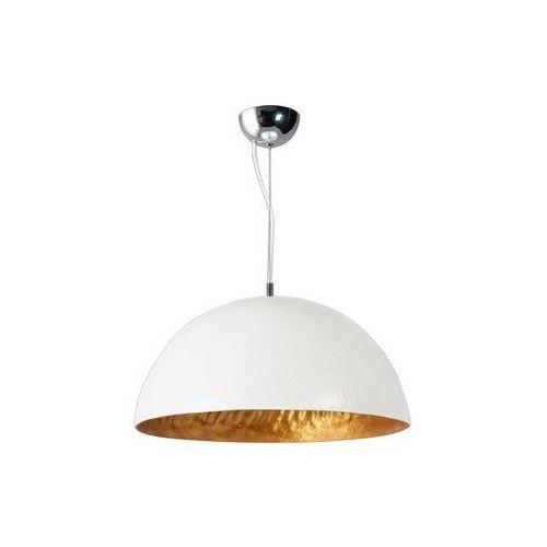Lampa wisząca Loft ETH Mezzo Tondo biała złota