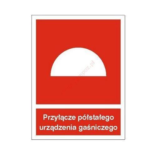 Znak Przyłącze półstałego urządzenia gaśniczego PB