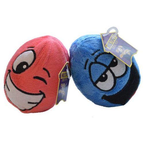 Kolorowe zabawki dla psów - kształt zabawnych pluszowych jaj