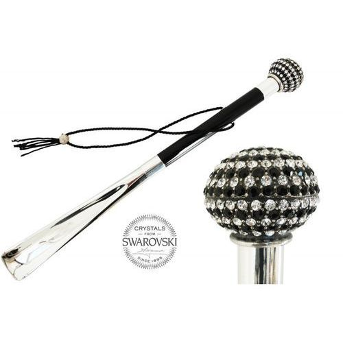 Łyżka do obuwia Pasotti Bicolor Swarovski Handle, cs W71BN