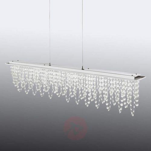 Slidre lampa wisząca led chrom, 1-punktowy - nowoczesny/design - obszar wewnętrzny - pendelleuchte - czas dostawy: od 4-8 dni roboczych marki Hofstein