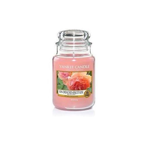 Świeca YANKEE słoik duży Sun-Drenched Apricot Rose - YSDSAR