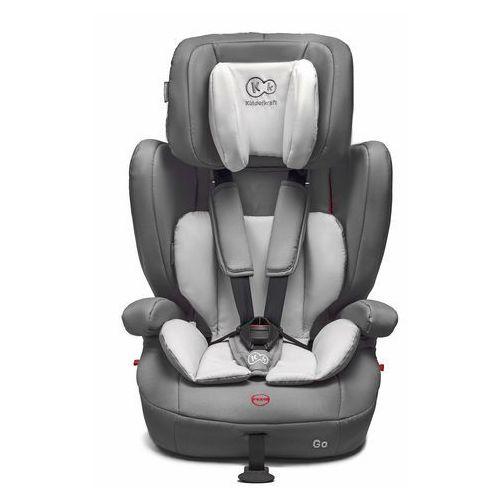 OKAZJA - Fotelik samochodowy KINDERKRAFT Go Szary (9 - 36 kg) + DARMOWY TRANSPORT! (5902533901616)