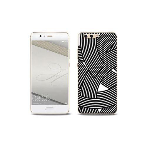 Fantastic Case - Huawei P10 Plus - etui na telefon Fantastic Case - biało-czarna mozaika