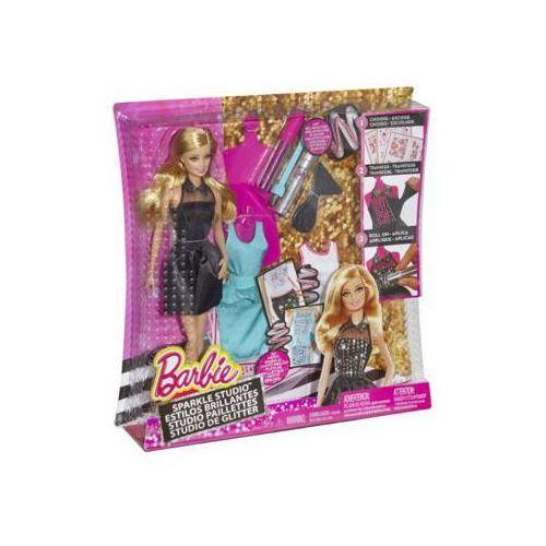 Lalka Barbie brokatowe studio CCN12 torebka Barbie gratis