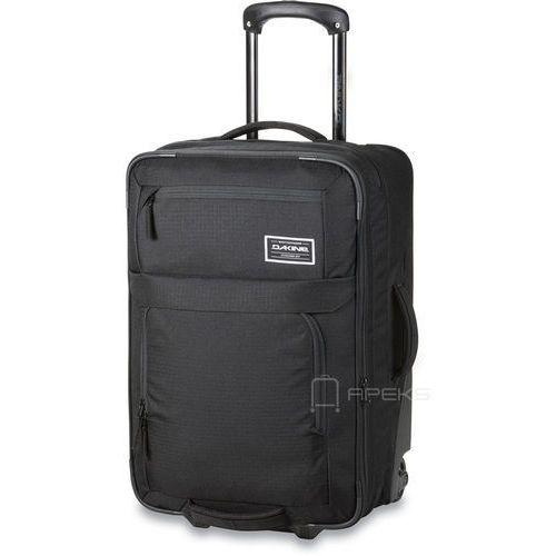 status roller 45l poszerzana torba podróżna na kółkach / walizka kabinowa / czarna - black marki Dakine