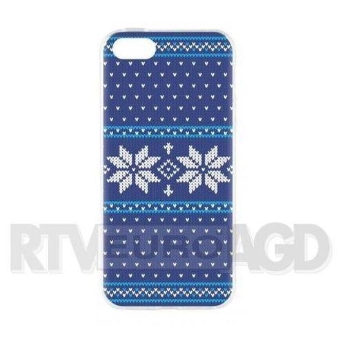 Flavr Etui case ugly xmas sweater do apple iphone 5/5s/se niebieski (27415)