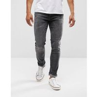Levis 511 Slim Stretch Fit Jeans Armstrong Dark Grey Wash - Grey, jeans