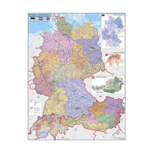 Niemcy Austria Szwajcaria mapa ścienna 1:900 000 Stiefel, 9783869610078