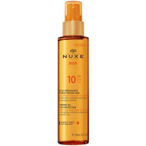sun olejek do opalania twarzy i ciała spf 10 (anti-aging cellular protection) 150 ml marki Nuxe