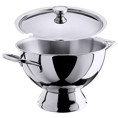 Waza na zupę ze stali nierdzewnej na stopce 5,5 l | CONTACTO, 5860/280