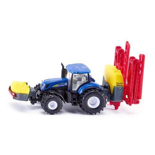Siku  traktor new holland z opryskiwaczem