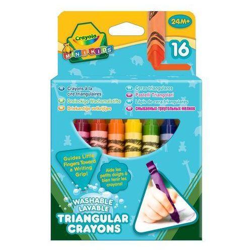 Crayola kredki świecowe trójkątne 16 szt