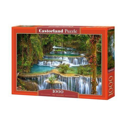 Puzzle 1000 the cascade - castor od 24,99zł darmowa dostawa kiosk ruchu marki Castorland