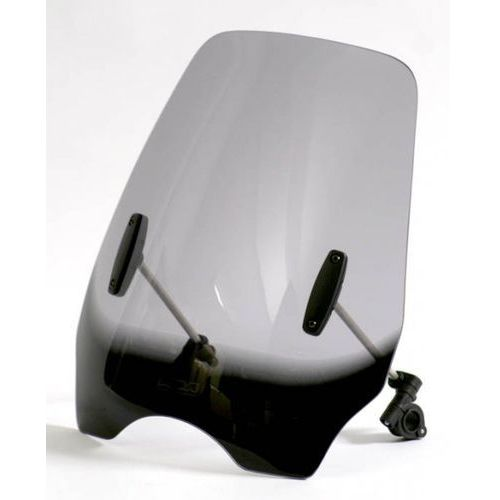 Uniwersalna szyba MRA do motocykli bez owiewek, forma HIGHWAYSHIELD- HI0 (bezbarwna)