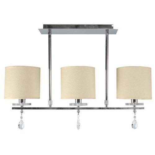 Lampa wisząca ampla Candellux Estera 3x40W E14 chrom 33-11510, kolor Srebrny