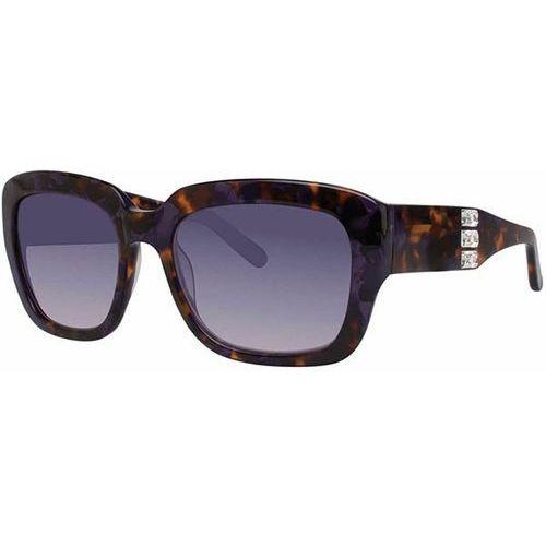 Vera wang Okulary słoneczne ciosa purple tortoise